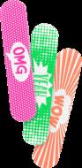 Мини пилочка для ногтей Sweet mini file Essence: фото