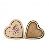 Бронзер I Heart Makeup Blushing Hearts MakeUp Revolution Summer of Love: фото