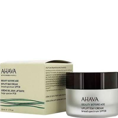 Дневной крем для подтяжки кожи лица с широким спектром защиты spf20 Ahava Beauty Before Age 50 мл: фото