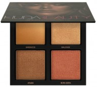 Палетка хайлайтеров Huda Beauty 3D HIGHLIGHTER PALETTE – BRONZE SANDS: фото