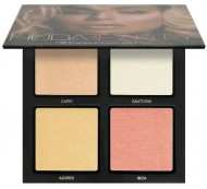 Палетка хайлайтеров Huda Beauty 3D HIGHLIGHTER PALETTE – PINK SANDS: фото