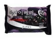 Мыло-скраб с асаи JUNO Sangtumeori peeling soap acai berry 150 мл: фото