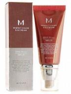 ВВ-крем с высокой степенью покрытия SPF42 MISSHA M Perfect cover BB-cream 21 светлый беж: фото