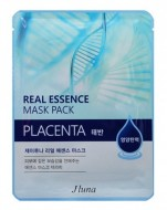 Тканевая маска с плацентой JUNO Real essence mask pack (placenta) 25 мл: фото