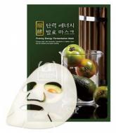 Маска для лица омолаживающая SNP Firming energy fermentation mask 25 мл: фото