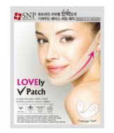 Маска-лифтинг для подбородка SNP Lovely v-firming patch: фото