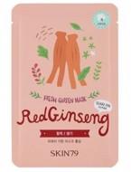 Тканевая маска с красным женьшенем SKIN79 Fresh garden mask red ginseng 23г: фото