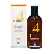 Шампунь терапевтический №2 для сухих, повреждённых, окрашеных волос SIM SENSITIVE System4 215мл: фото