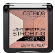 Хайлайтер мультицветный 5в1 CATRICE Light spectrum strobing brick 10 Brown Brilliance: фото