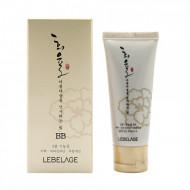 ББ крем с муцином улитки SPF 50+/PA+++ Lebelage Heeyul Premium Snail BB: фото