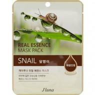 Тканевая маска с улиткой Juno Real Essence Mask Pack (Snail) 25мл: фото