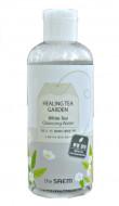 Вода очищающая увлажняющая с экстрактом белого чая THE SAEM Healing Tea Garden White Tea Cleansing Water 300мл: фото
