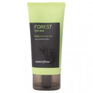 Отзывы Пенка освежающая для умывания и бритья с фитонцидным комплексом Innisfree Forest For Men Fresh Cleansing Foam 150мл