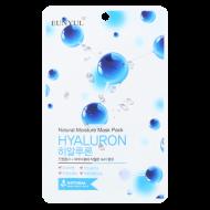Маска тканевая с гиалуроновой кислотой EUNYUL NATURAL MOSTURE MASK PACK HYALURON 22мл: фото