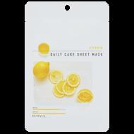 Тканевая маска для лица с витаминами EUNYUL VITAMIN DAILY CARE SHEET MASK 22г: фото