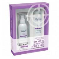 Набор для чувствительной кожи Revlon Professional INTRAGEN SOS: шампунь + крем-сыворотка: фото
