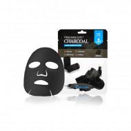 Тканевая маска для лица с древесным углем 3W CLINIC Fresh Charcoal Mask Sheet: фото