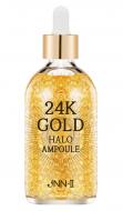 Сыворотка для лица с 24К золотом JUNGNANI JNN-II 24K GOLD HALO AMPOULE 100мл: фото