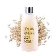 Тонер для лица РИС REALSKIN Healthy vinegar skin toner Rice 300мл: фото