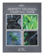 Тканевая маска с углем Lindsay Perfect Solution Charcoal Mask: фото