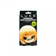 Полоски Очищающие от черных точек угольные 4Skin Luke Charcoal Nose Cleansing Strip 10шт: фото