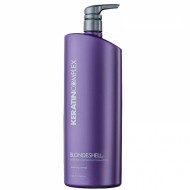 Шампунь корректирующий для осветленных и седых волос Keratin Complex Blondeshell Debrass & Brighten Shampoo 946мл: фото
