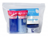Набор средств с экстрактом риса дорожный MOMOTANI Rice Moisture Travel Set 58мл*2 + 30г: фото