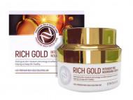 Крем питательный с золотом Rich Gold Intensive Pro Nourishing Cream 50мл: фото