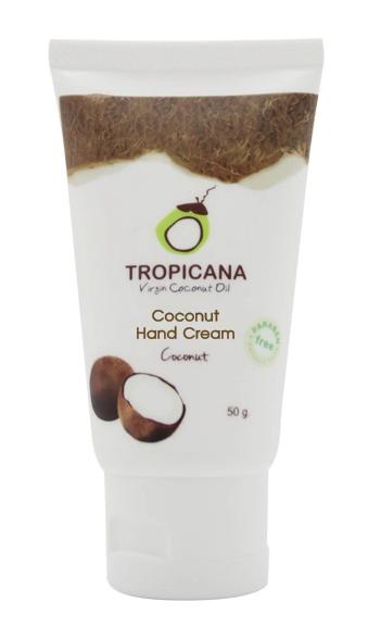 Крем для рук КОКОС TROPICANA COCONUT HAND CREAM COCONUT 50 г: фото
