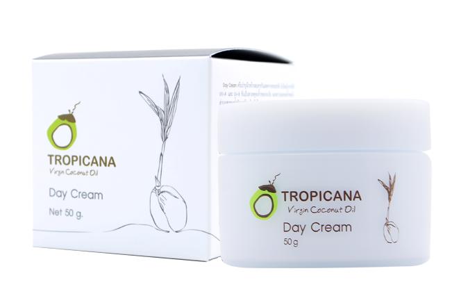 Крем для лица ДНЕВНОЙ TROPICANA Virgin Coconut Oil Day Cream 50мл: фото